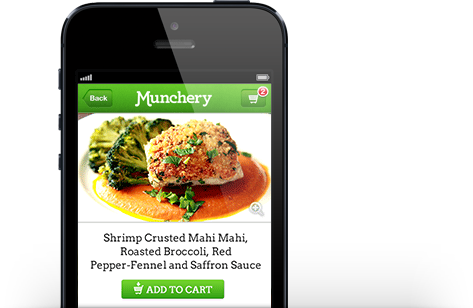 Munchery iPhone App From Phone to Fork... Meals from