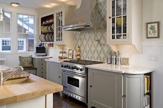 Open Cabinets/Plate rack/Curved end-cabinet/Color