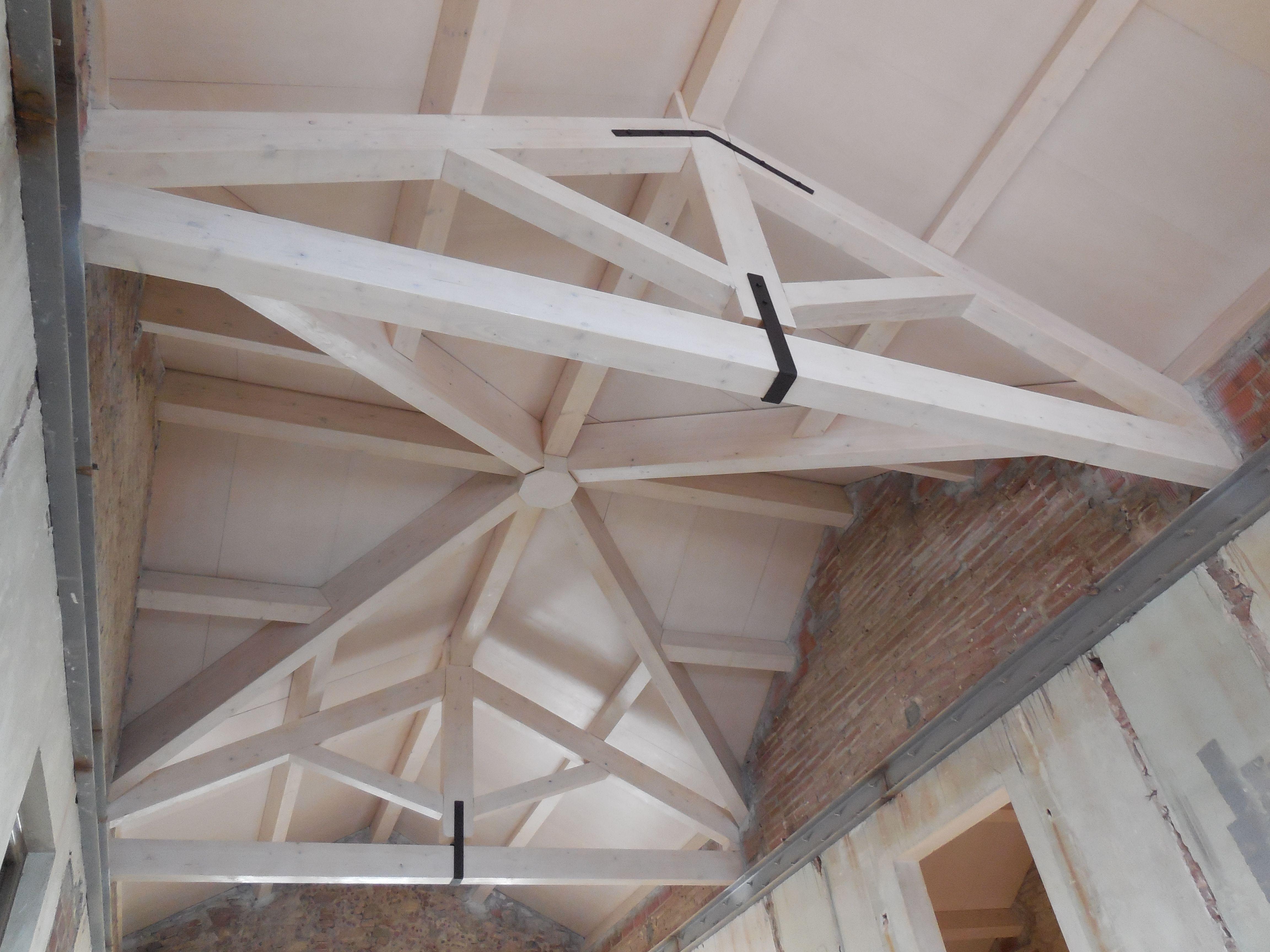 Thermochip fen lico con acabado en abedul para las - Decoracion de techos ...