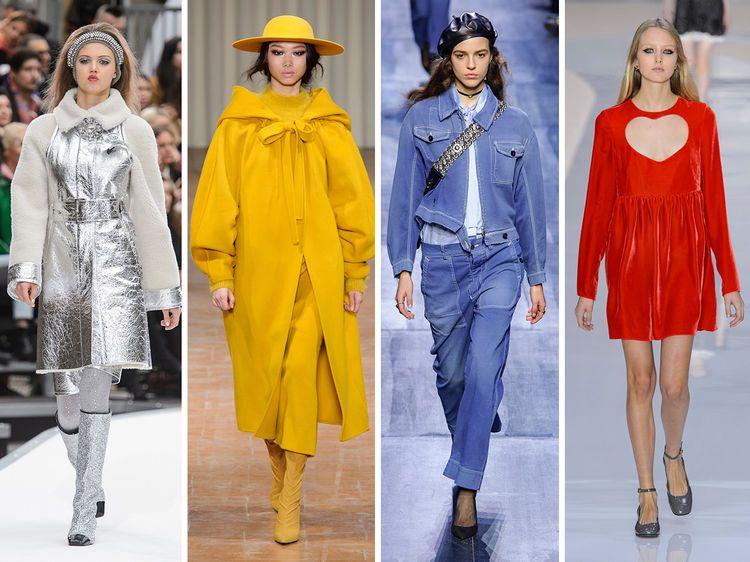 Sehr Les tendances mode automne-hiver 2017-2018 | Quelle couleur, Les  XA72