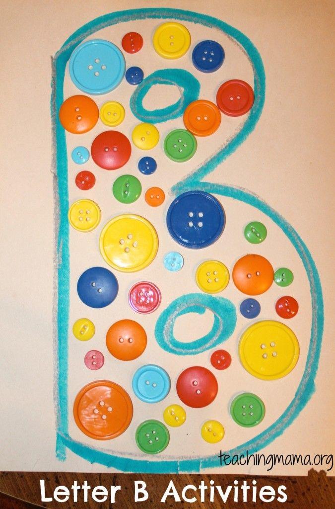 Letter B Activities For Preschoolers Letter B Crafts Letter B Activities Preschool Letter Crafts Letter b activities for preschoolers