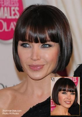 Fabulous 1000 Images About Hair On Pinterest Blunt Bob Bobs And Bob Short Hairstyles Gunalazisus