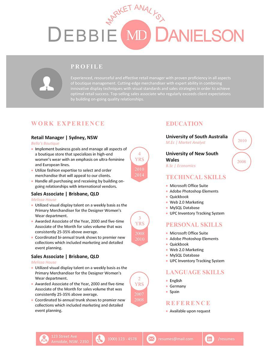 The Debbie Resume HttpWwwResumeshoppeComShopDebbieResume