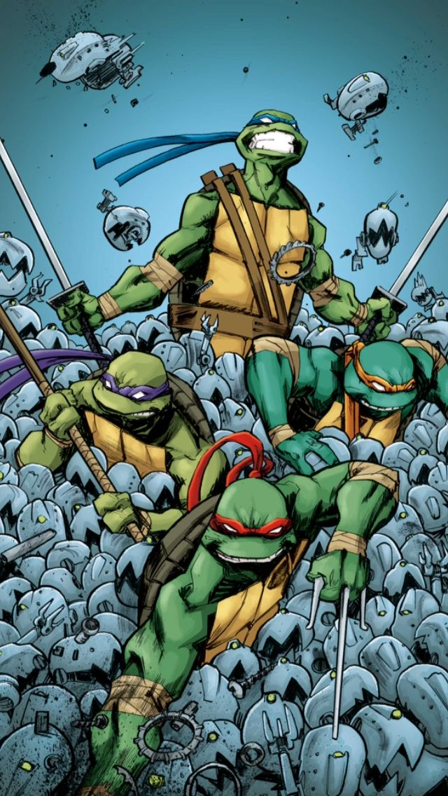 IDW TMNT Mousers