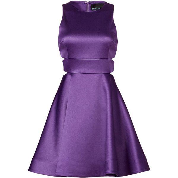 Al Cynthia Rowley Amethyst Dress 65 Liked On Polyvore Featuring Dresses Purple