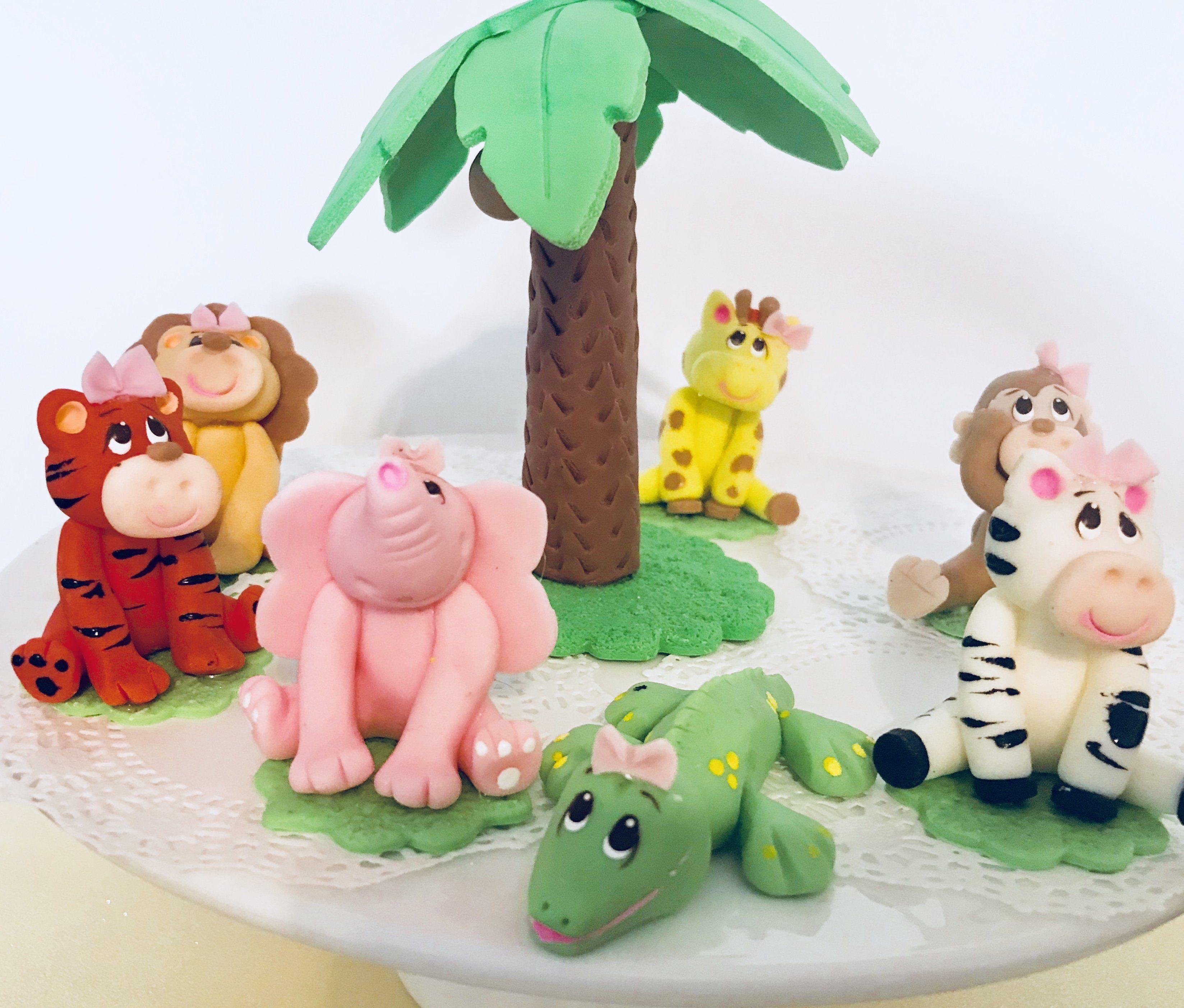 3D Jungle Set.