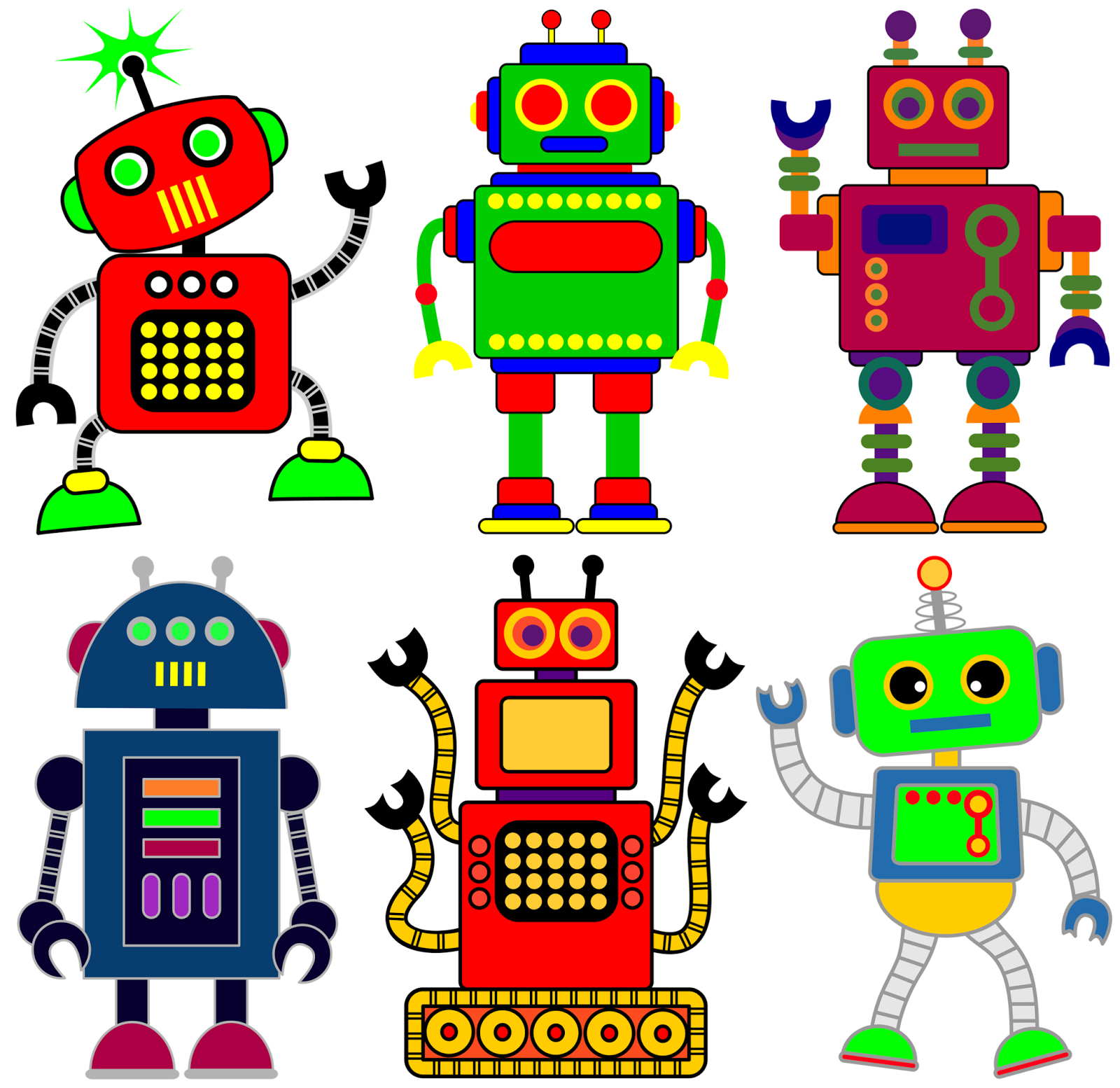 classroom treasures robot clipart robotteja pinterest robot rh pinterest co uk free robot clipart black and white free robot clipart images