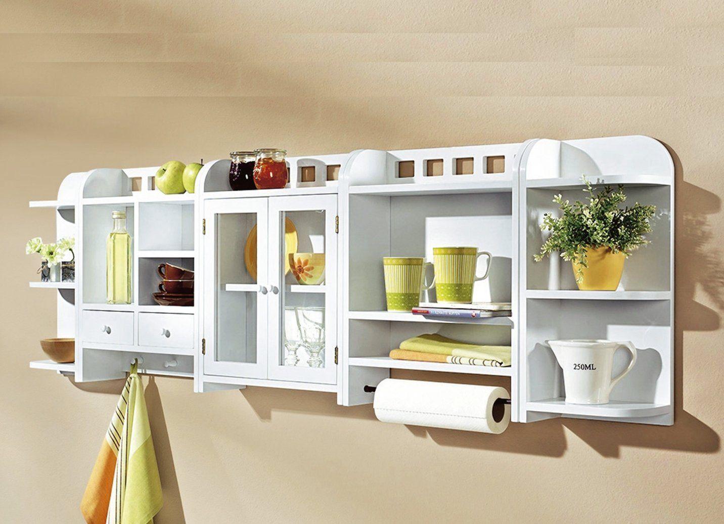 Küchenregal weiß 3tlg. Set Hängeregal Regalschrank Schrankregal ...