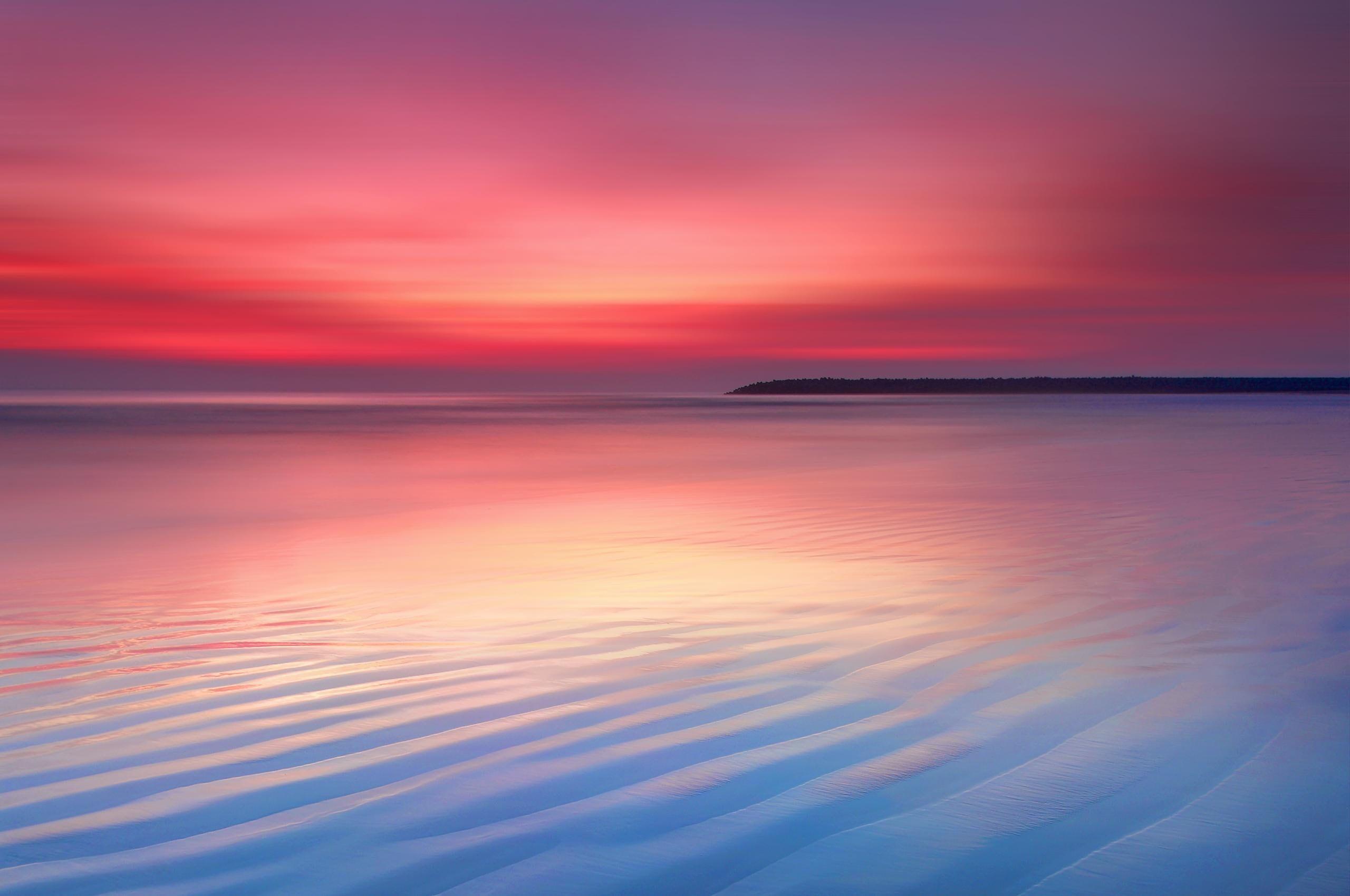 Dusk Chrome Os Sunset Calm Seascape Stock 2k Wallpaper Hdwallpaper Desktop Sunset Wallpaper Chromebook Os Wallpaper