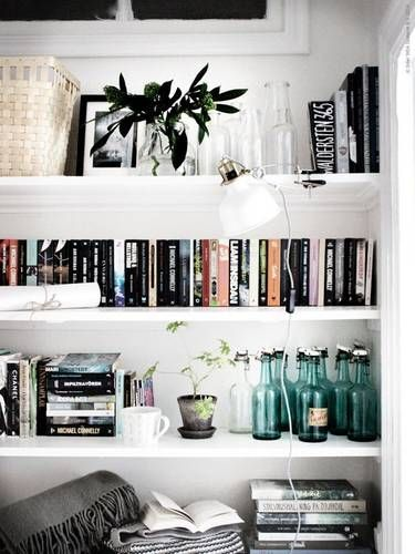The Best Bookshelf Decor Ideas On Pinterest Right Now Domino Home Room Inspiration