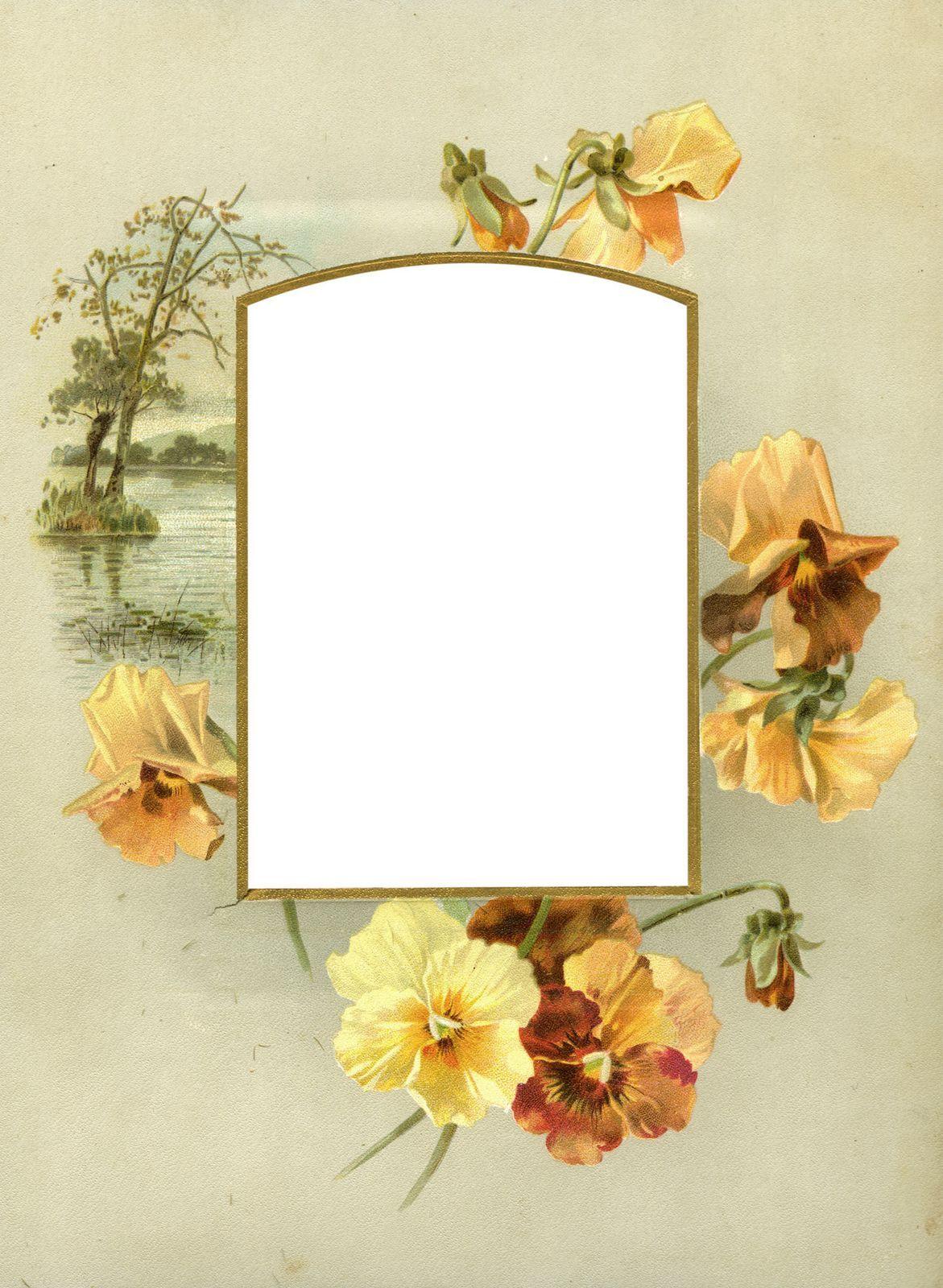 Настольная открытка рамка открытка винтаж