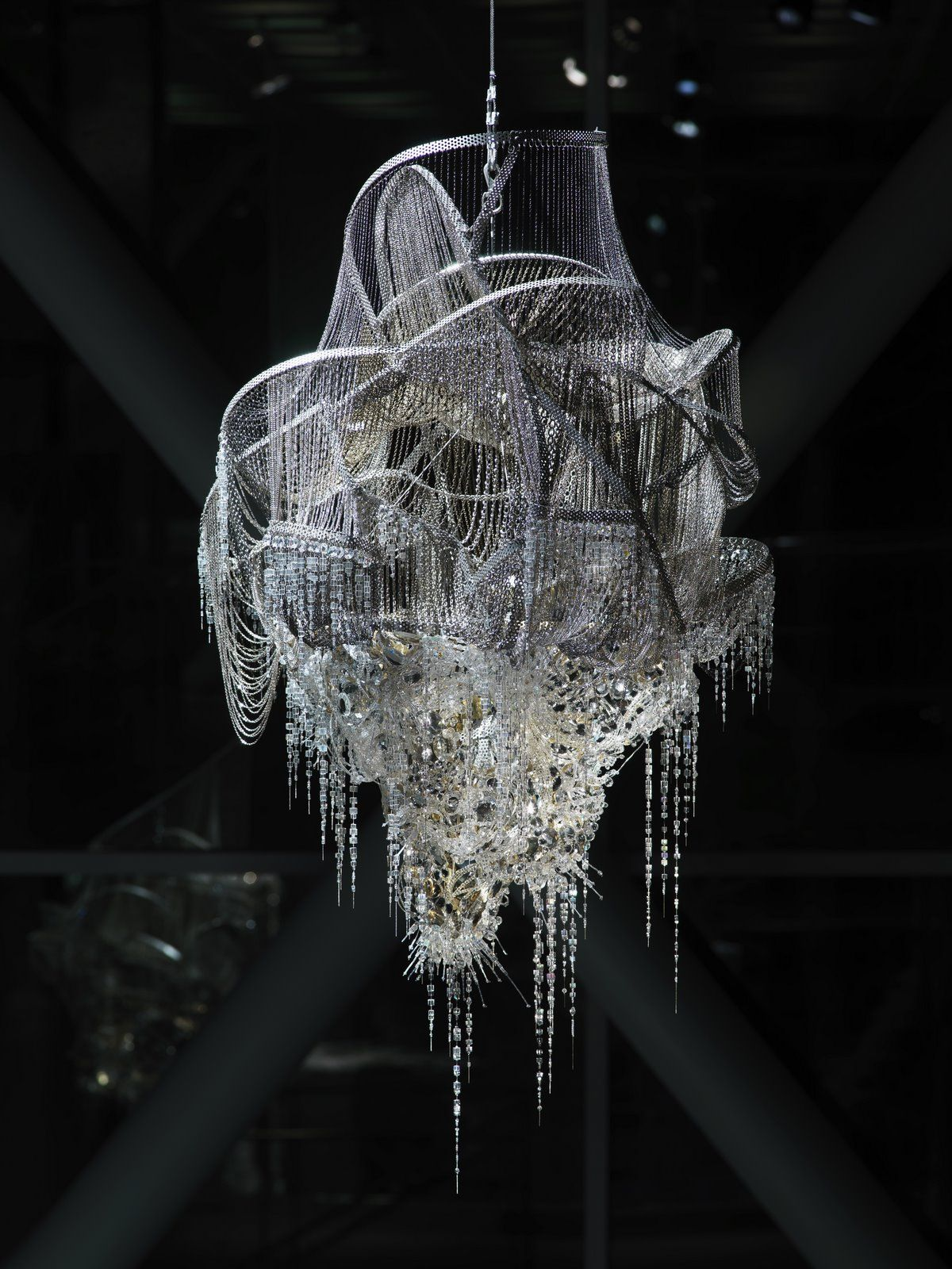 Chandelier by lee bul andelier pinterest chandelier by lee bul arubaitofo Image collections