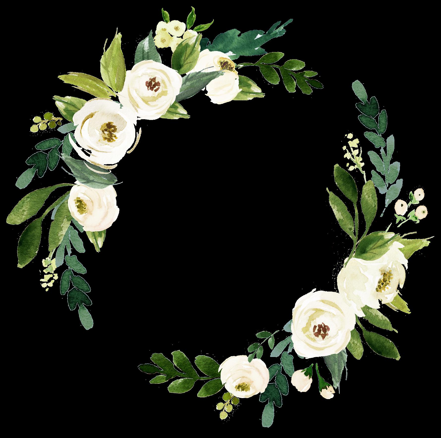 white flowers wedding invite freetoedit overlay
