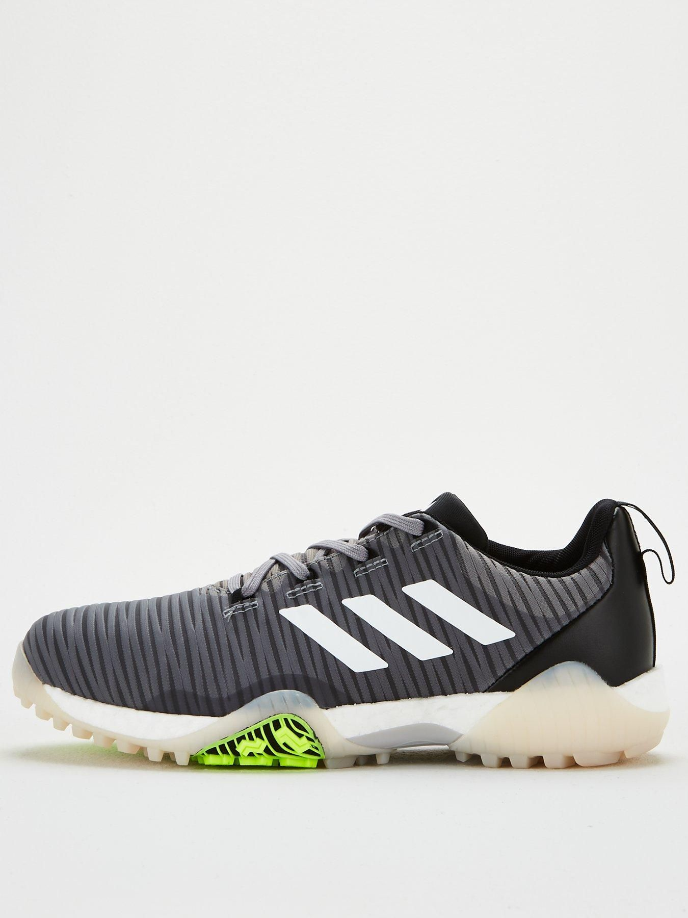 Adidas Adidas Golf Code Chaos Trainer Grey White Size 10 Men