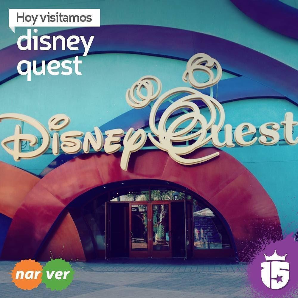 Cyberespacio 3D 4D toda una experiencia interactiva en Disney Quest con #enjoy15! Vamos con los grupos #naranjaF16 y #verdeF16!