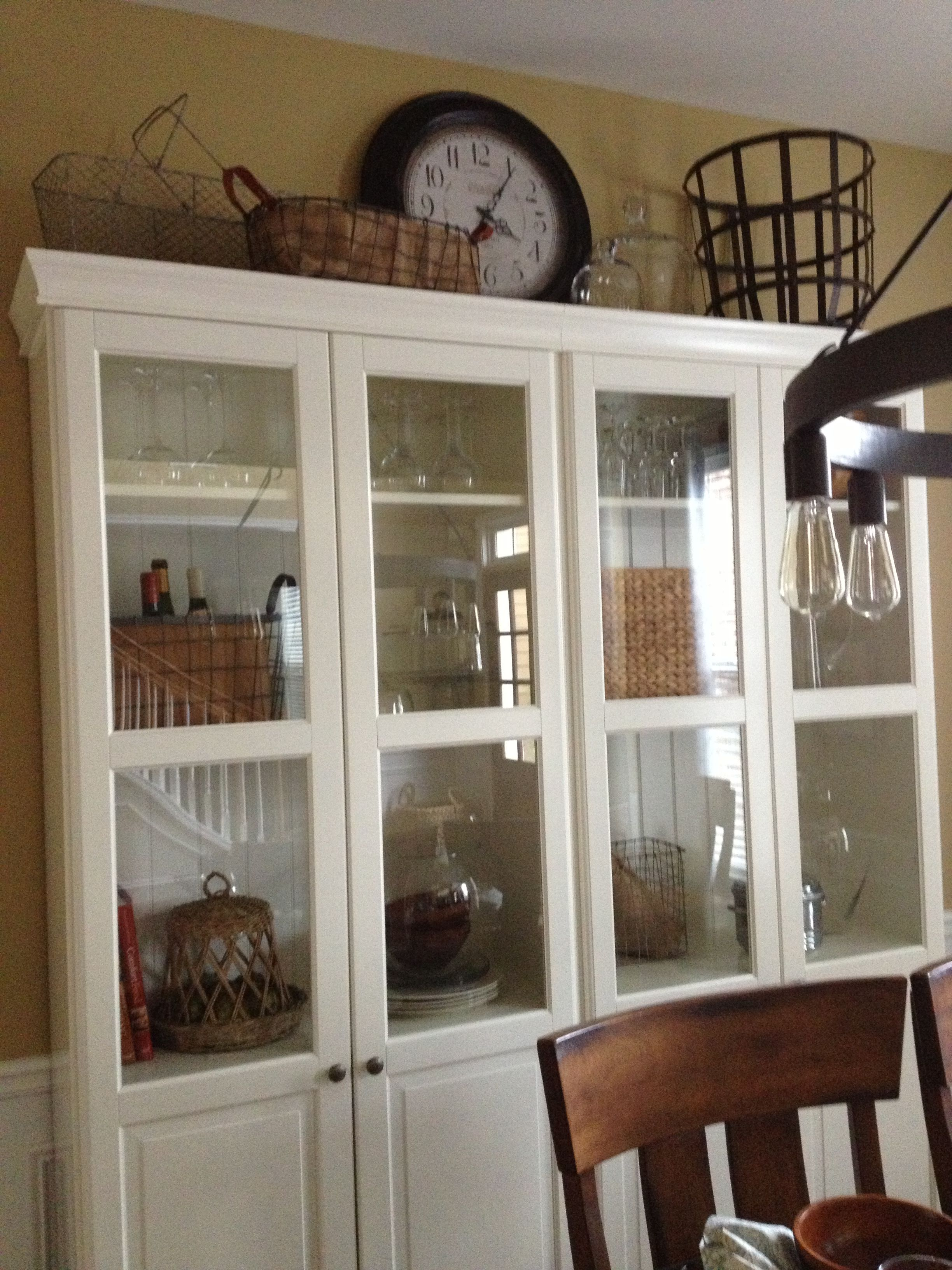 China cabinet from Ikea Dining Room Pinterest