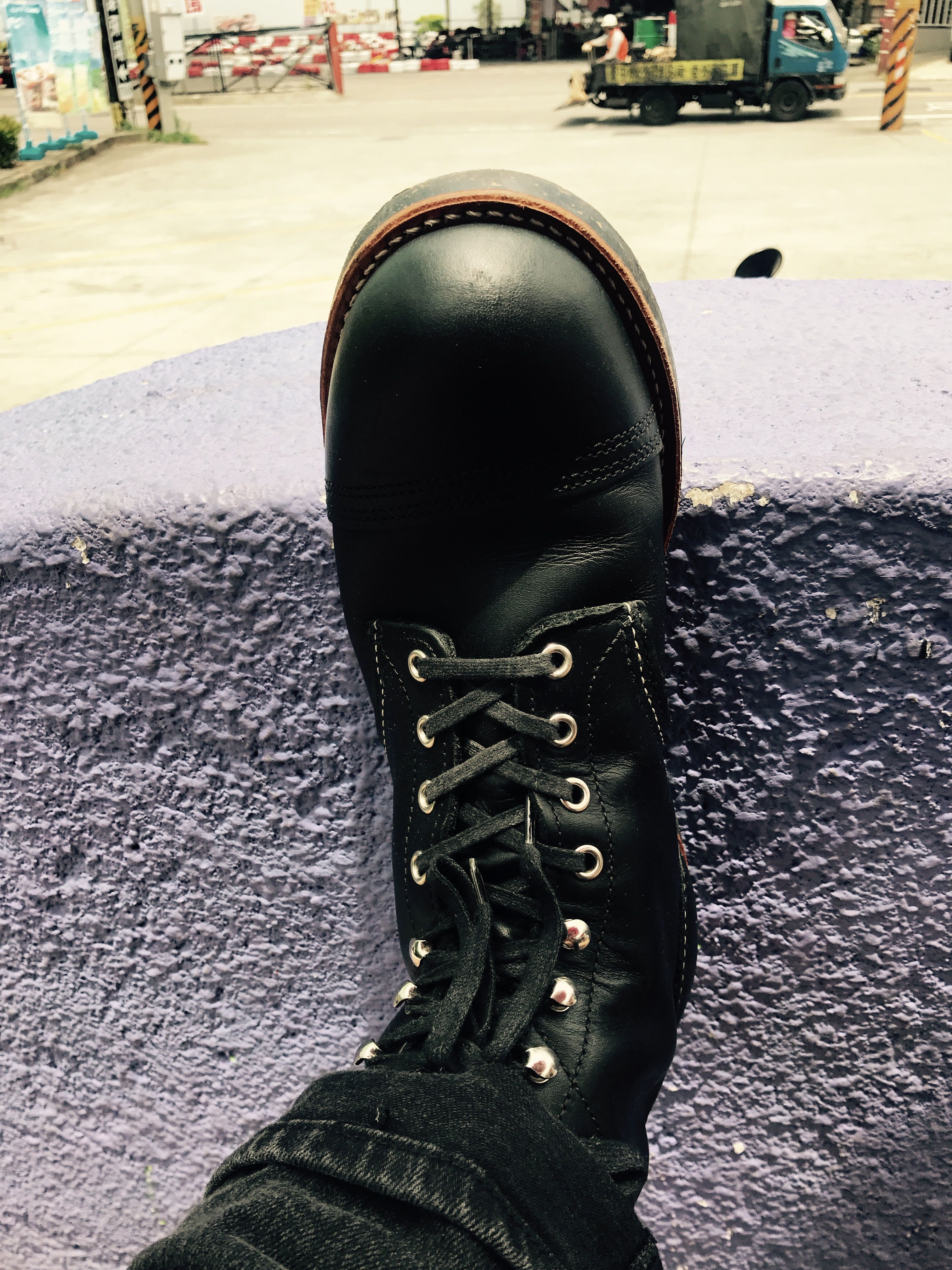 Red Wing Iron Ranger  Black Harness Red Wing Heritage Boots Red Wing Boots