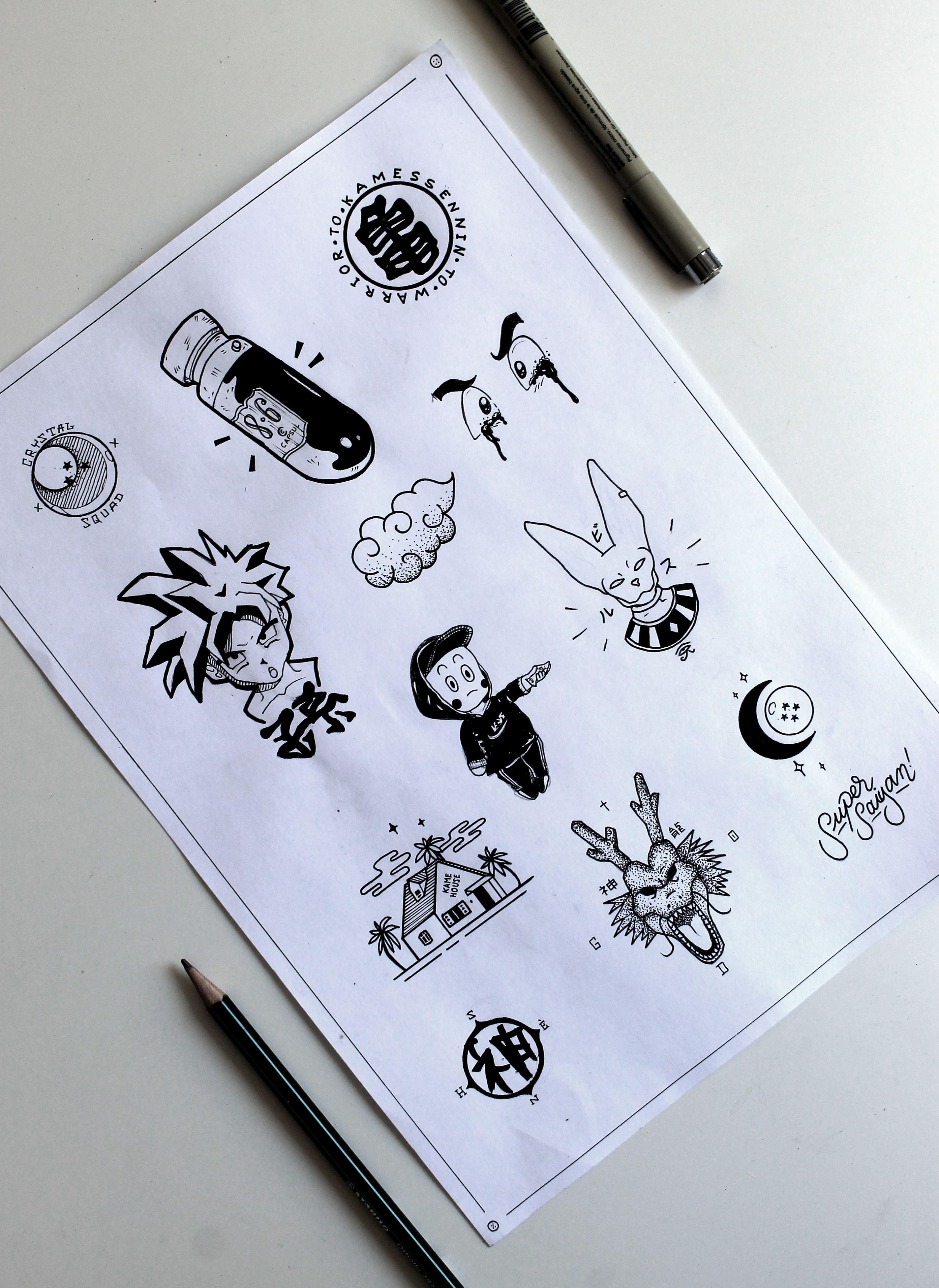 Dbz Flash Tattoo Dbz Tattoo Z Tattoo Dragon Ball Tattoo
