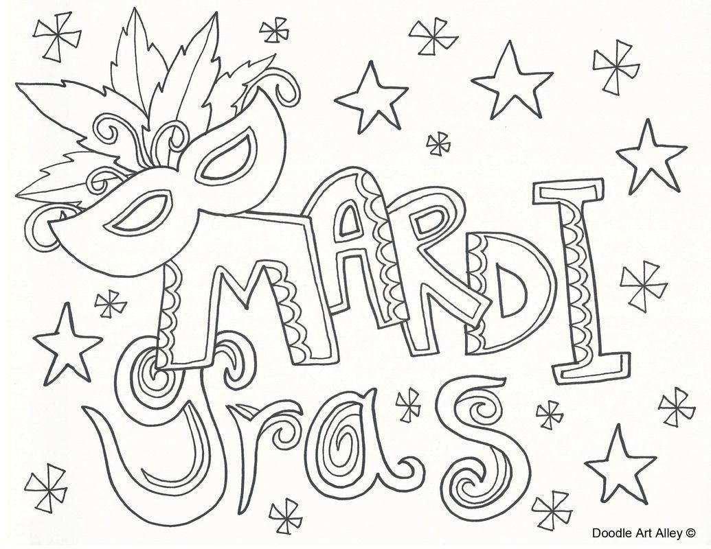 mardi gras color pages - picture doodlin 39 coloring pages pinterest mardi gras