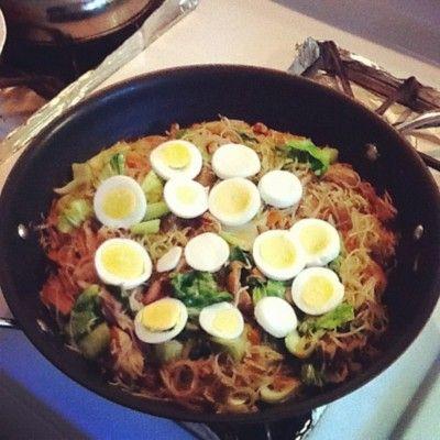 Glass Noodles (Pancit Bihon)