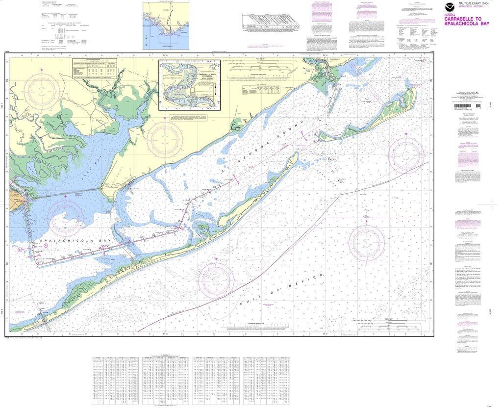 Noaa Nautical Chart 11517 St Helena Sound Nautical Chart Chart Travel Map Pins