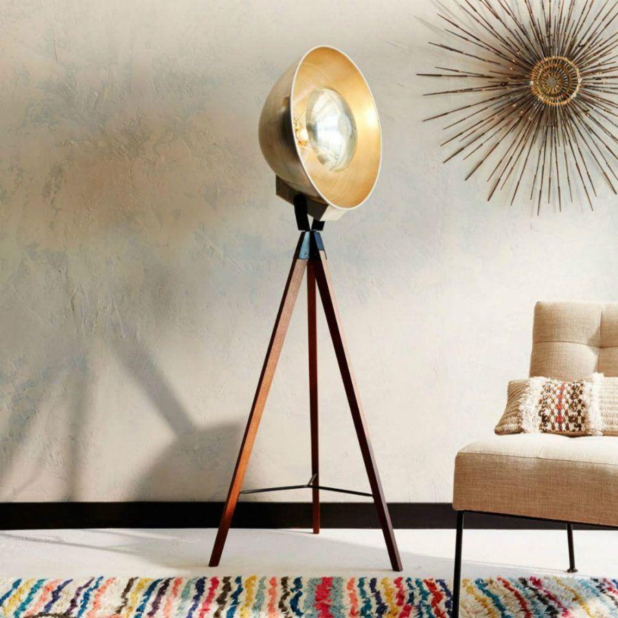 25 Absolutely Not Boring Tripod Floor Lamp Designs Lounge Floor Lamp Floor Lamp Design Contemporary Floor Lamps