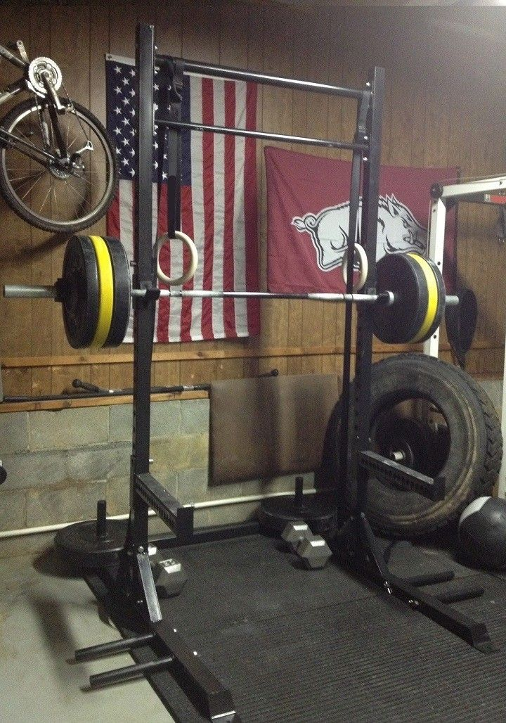 Guillotine Bench Press Part - 34: The Guillotine Is The All-inclusive Squat Rack, Bench Press Station, Dip  Station, Pull Up Bar Combo. See The Video Tab For All The Features It Comes  With: ...