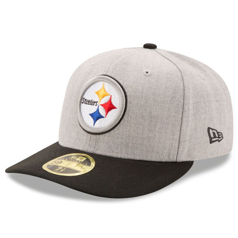 Pittsburgh Steelers New Era Super Bowl X Champions Classic Low Profile  59FIFTY Fitted Hat - Heathered Gray Black 47b41f0cc