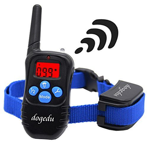 Dogedu Du998dr1 Rechargeable And Rainproof Dog Training