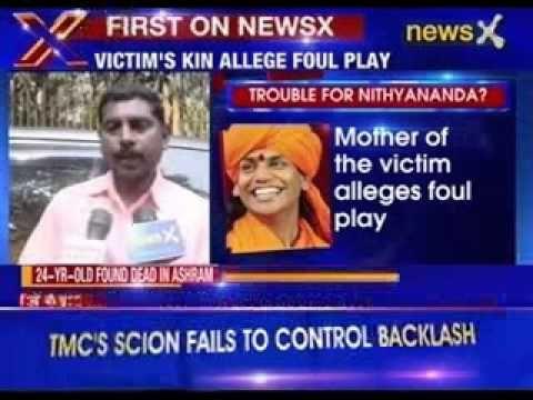 24 year old found dead in Swami Nithyananda ashram