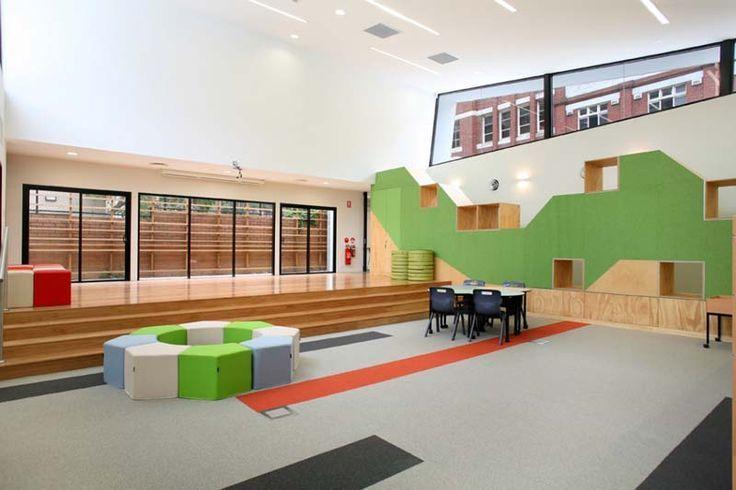 Scandinavian Modern School Interiors