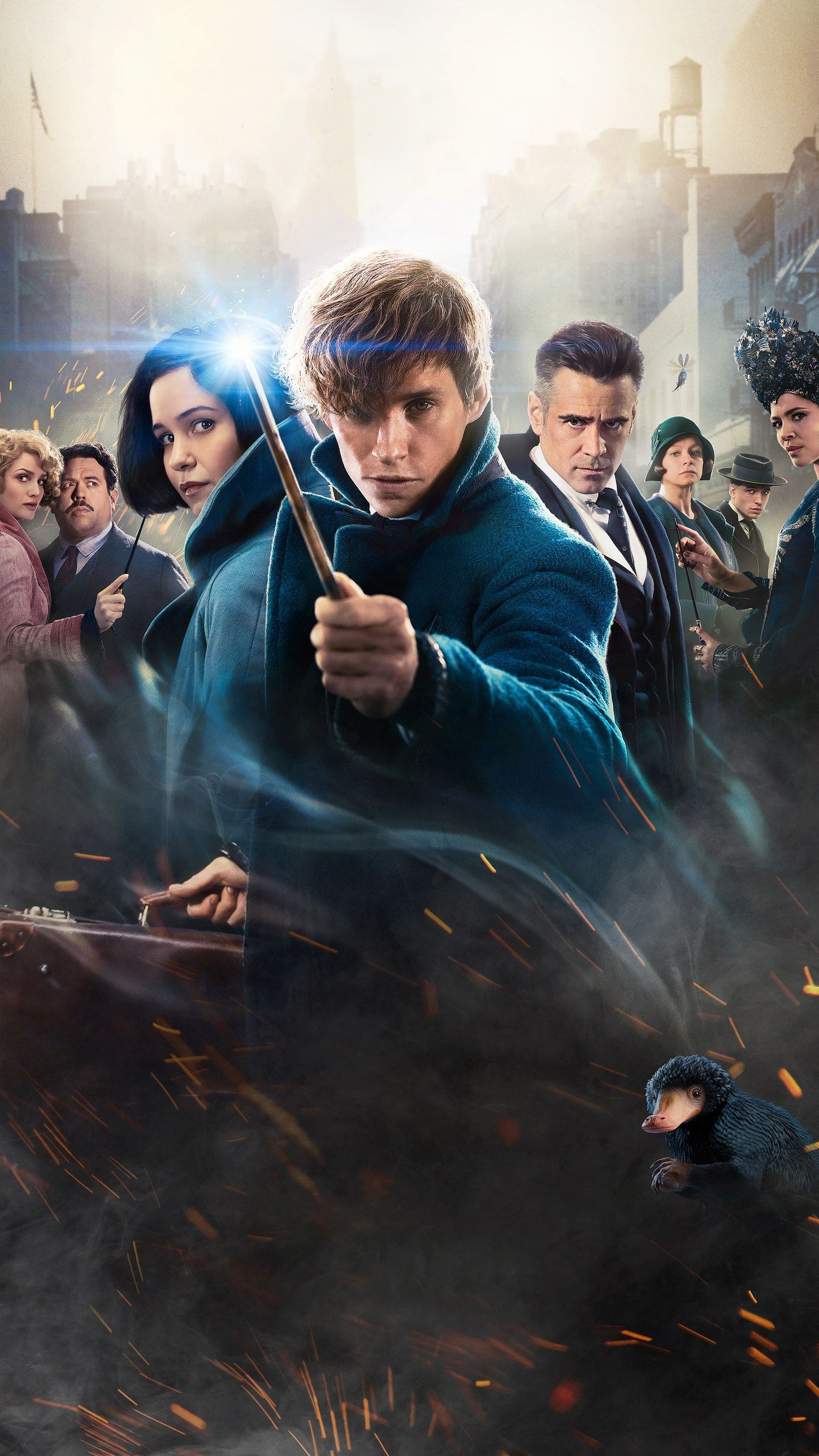 Fantastic beasts and where to find them 2016 phone