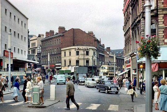 Dale End, Birmingham. 1960s.