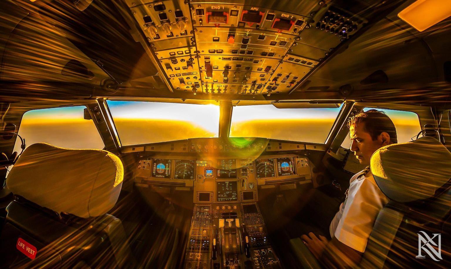Karim Nafani Pilot Photographs Views From The Cockpit Photos