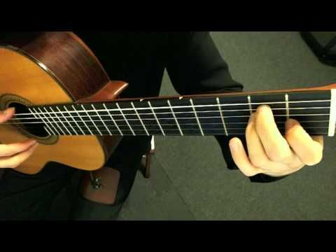 Spanish Romance - Anonymous (Classical Guitar, with Tremolo)