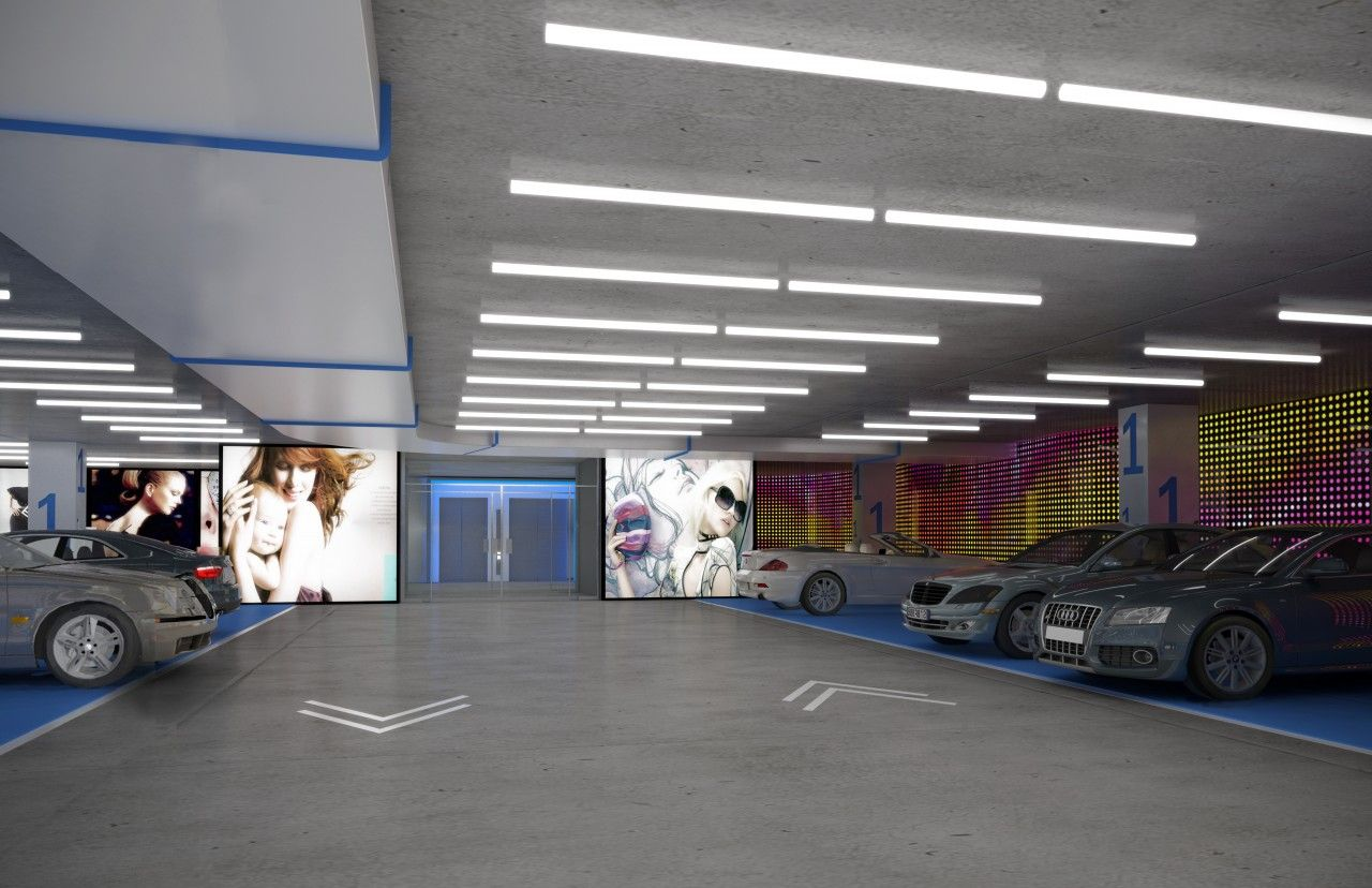Garage Interior Designs Mall Garages Interiors  Google Search  Baraka Office Building