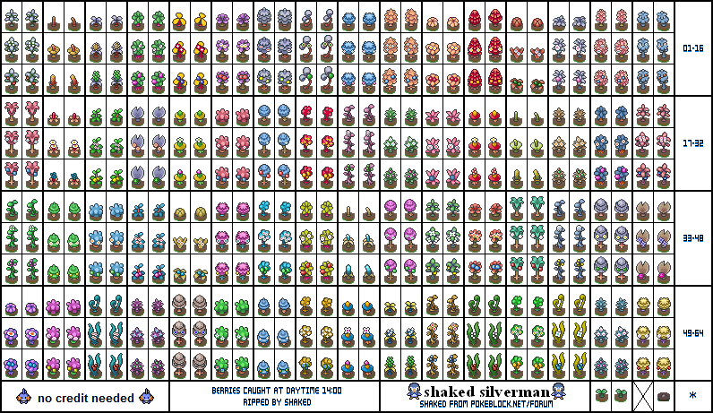 pokemon berries pokemon diamondpearl other sprites