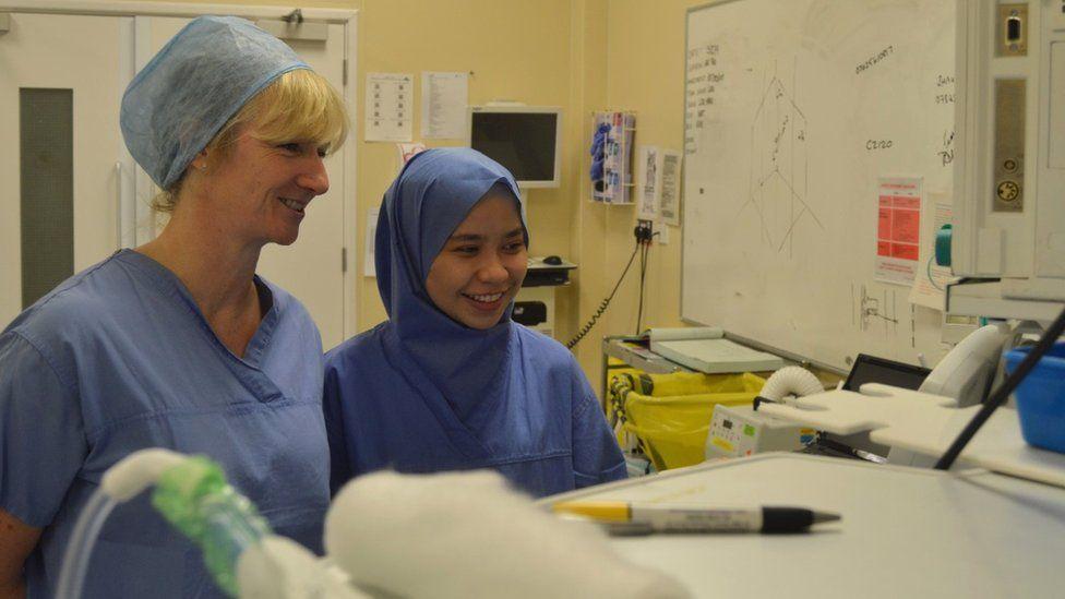Dr. Farah Roslan | Hijab | Disposable Surgical Hijab | Dr. Farah Shaheera Roslan