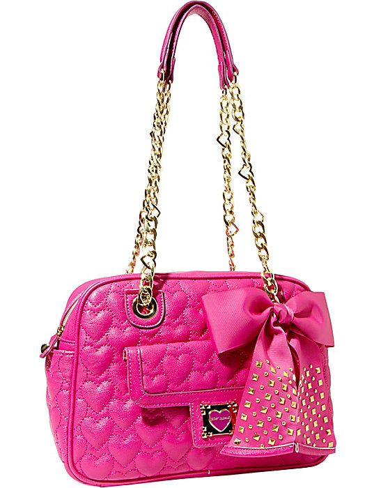 BE MY SWEETHEART SQUARE SATCHEL PINK accessories handbags day satchels