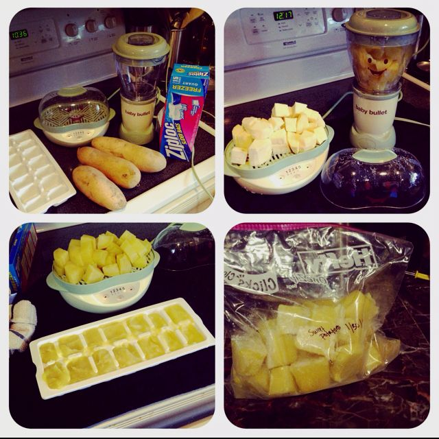 Easiest Way To Make And Store Your Own Baby Food I Use