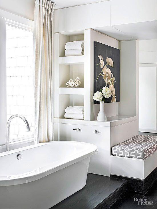 Modern Bathroom Design Ideas Towel storage, Contemporary style and