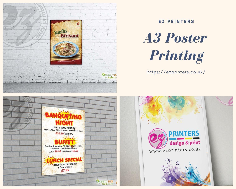 A3 poster printing ez printers poster prints