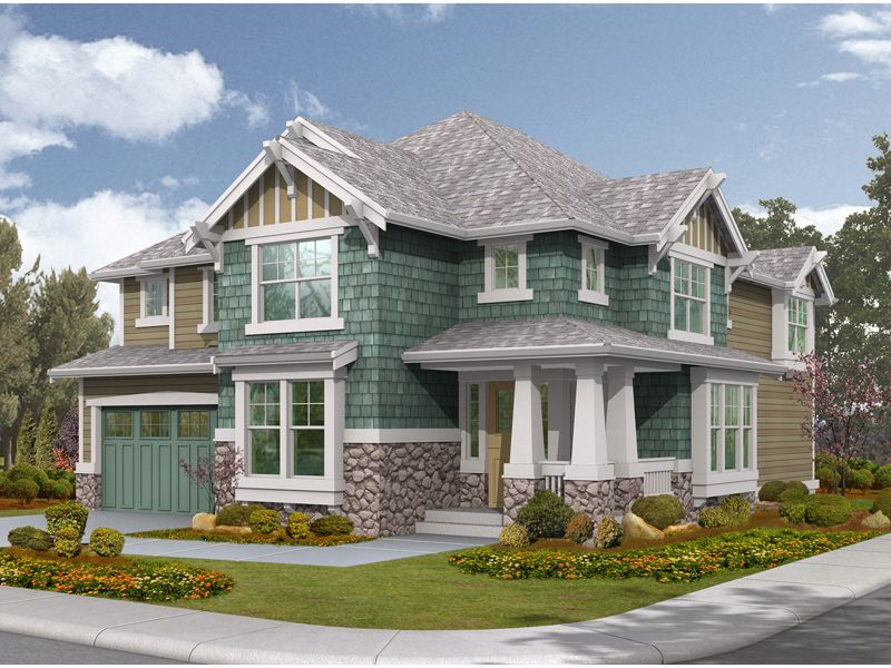 Eugenia place modern home for House plans and more com home plans