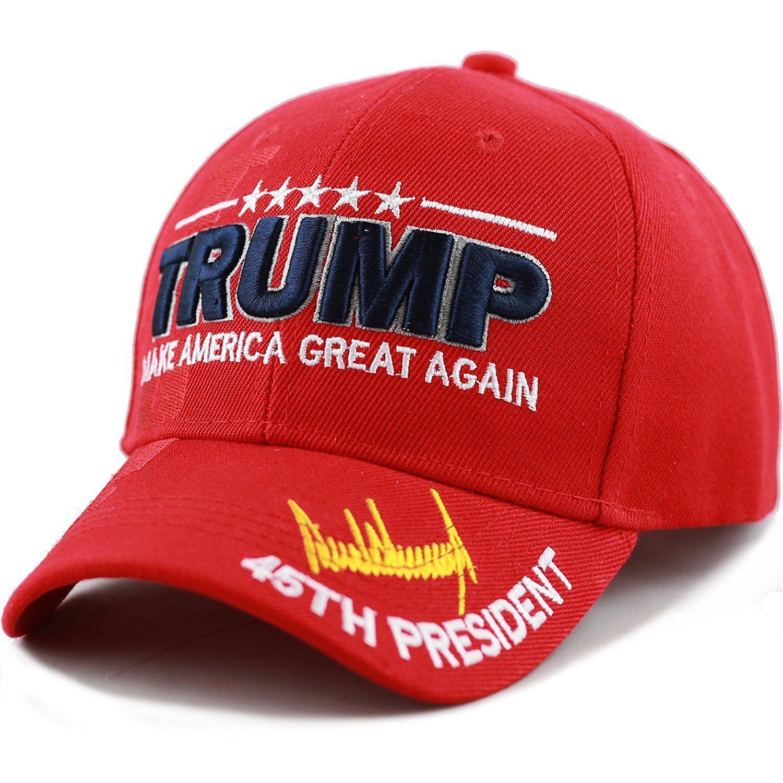 "45th President Trump /""Make America Great Again/"" 3D White"