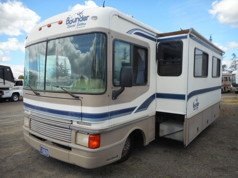 1998 Fleetwood Bounder 36s For Sale Mcminnville Or Rvt Com Classifieds Fleetwood Bounder Fleetwood Recreational Vehicles