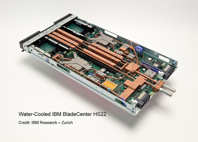 The Ibm Bladecenter Cluster For Aquasar Is Comprised Of Three Ibm