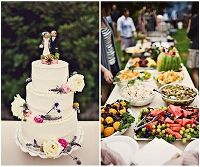 Backyard Barbeque Wedding Food