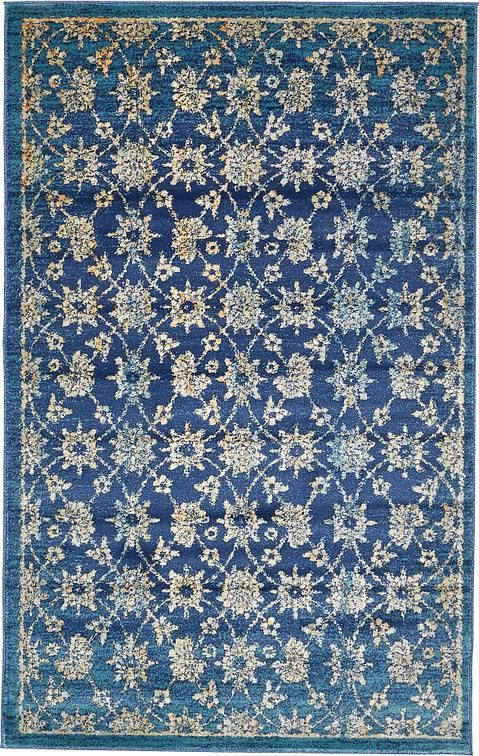 2f8b12fc56 Polypropylene 5x8 is $149, Also comes in 6x9 for $199 Navy Blue Stockholm  Area Rug