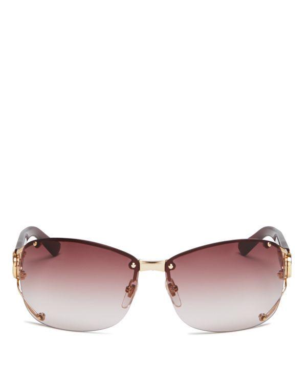 c66a0ed2e3f7 Gucci Rimless Aviator Sunglasses, 62mm | Products | Sunglasses ...