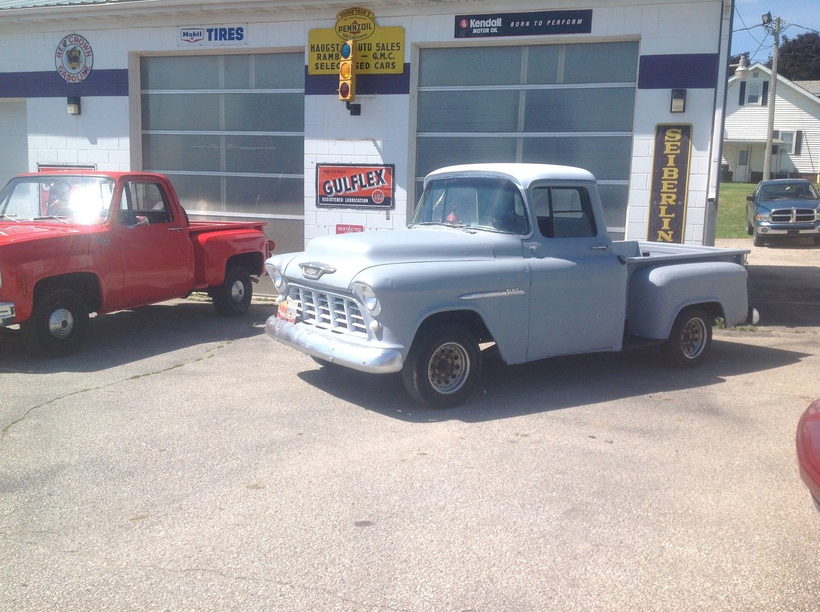 Chevrolet: Other Pickups 1/2 ton SB 1955 rare chevy 1 2 ton short box pick up truck video pics drives 1957 1950 1947